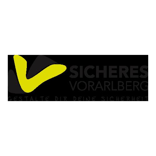 Logo Sicheres Vorarlberg | xhow, Innsbruck