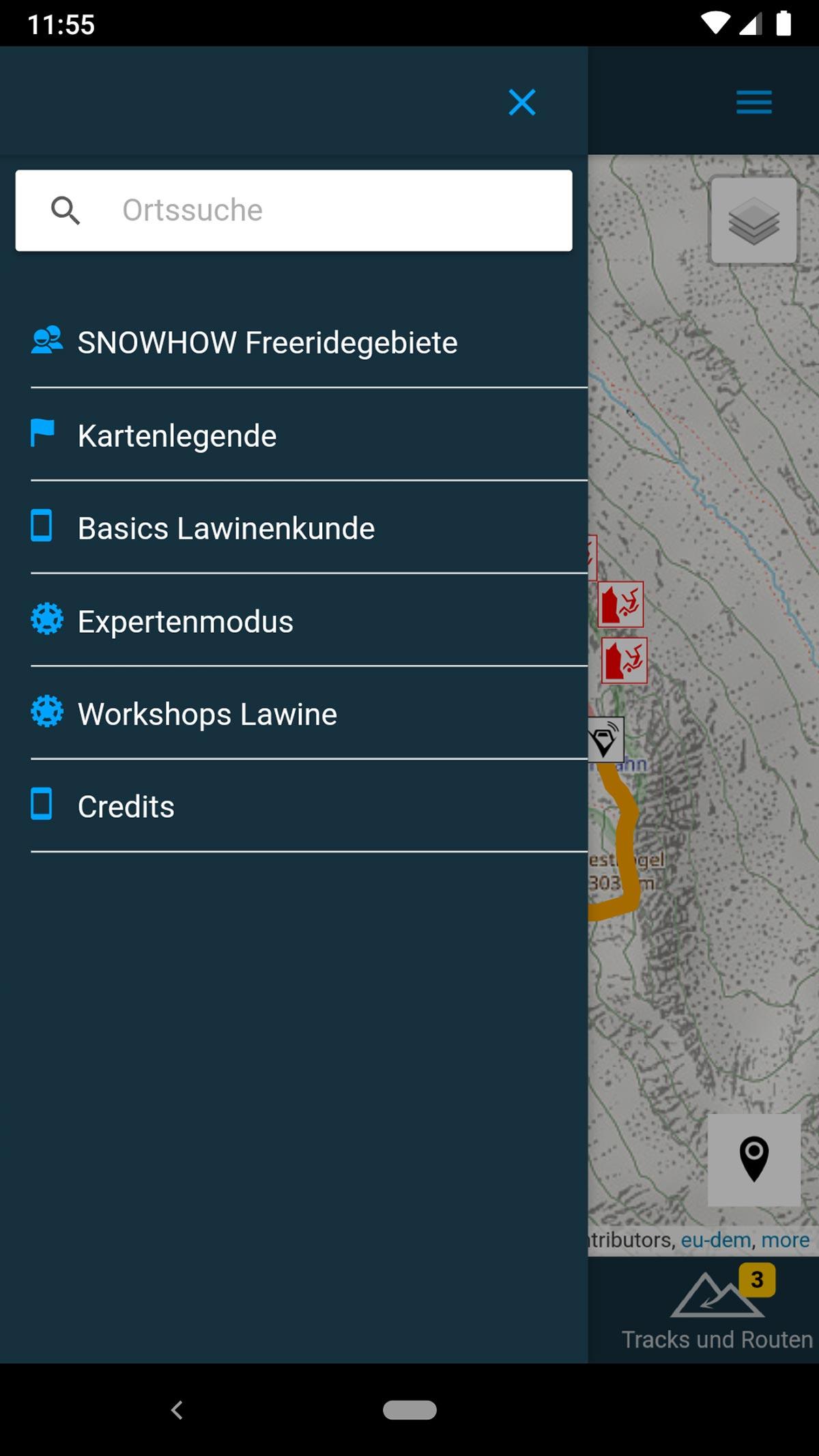 Snowhow App Freeride / Lawinen