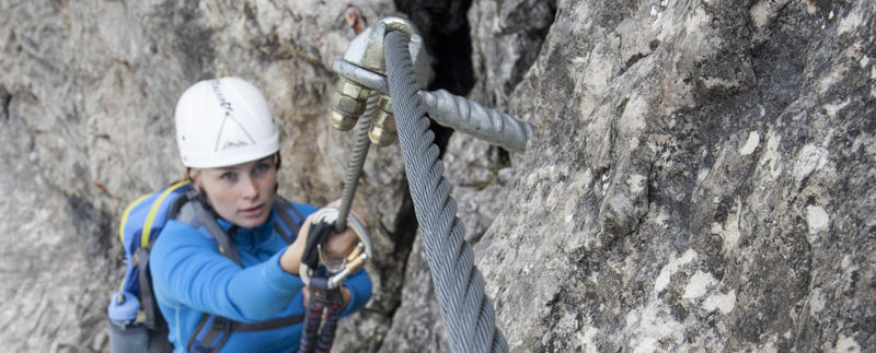 Klettersteig-Camps Lachenspitze Lechtaler Alpen I climboiw xhow Innsbruck