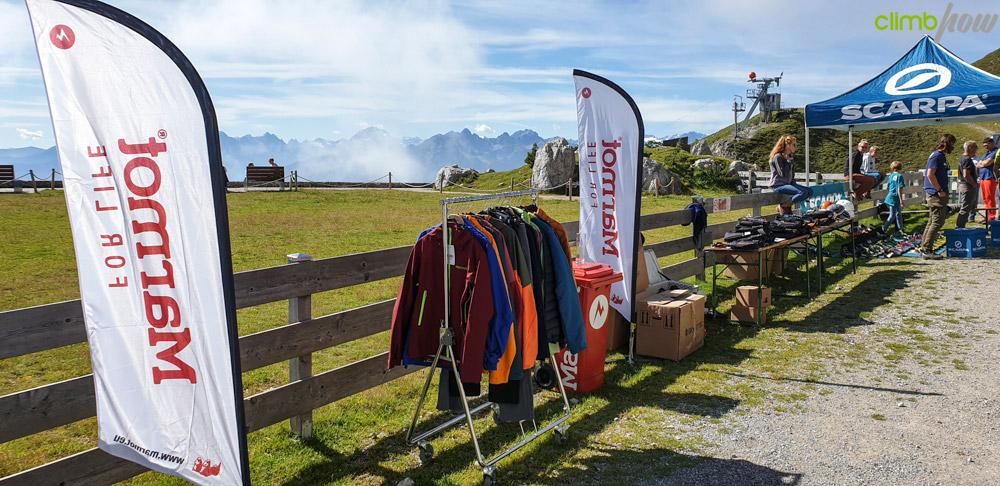 Das richtige Outfit für jedes Wetter, Klettersteigfestival Nordkette Innsbruck 2019 | xhow