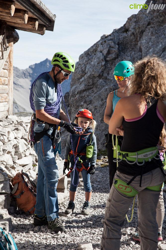 Ausrüstungs-Check, Klettersteigfestival Nordkette Innsbruck 2019 | xhow