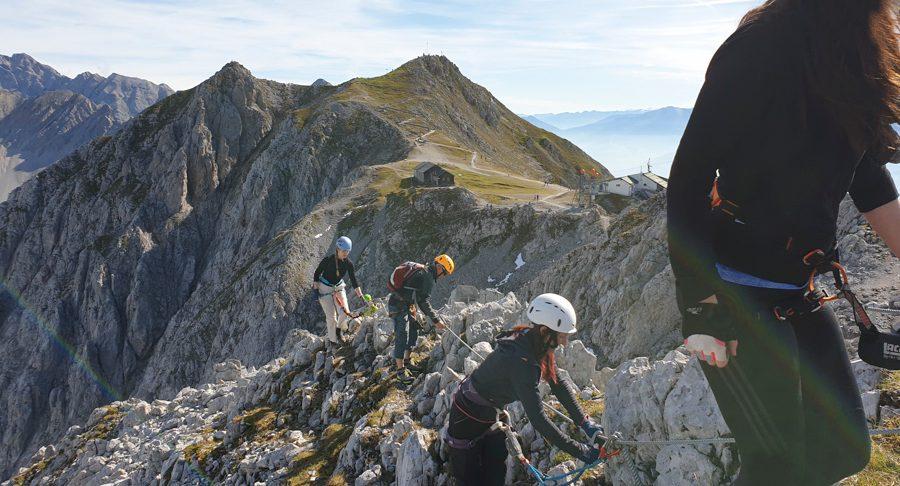 Klettersteigtestival Nordkette Innsbruck 2019 I climbhow
