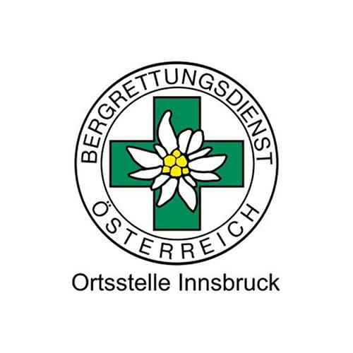 Logo Bergrettungsdienst Österreich I xhow, Innsbruck
