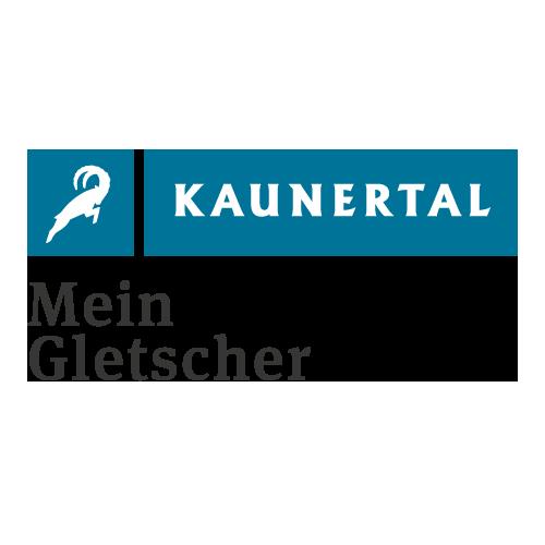 Logo Kaunertal - Mein Gletscher | xhow, Innsbruck