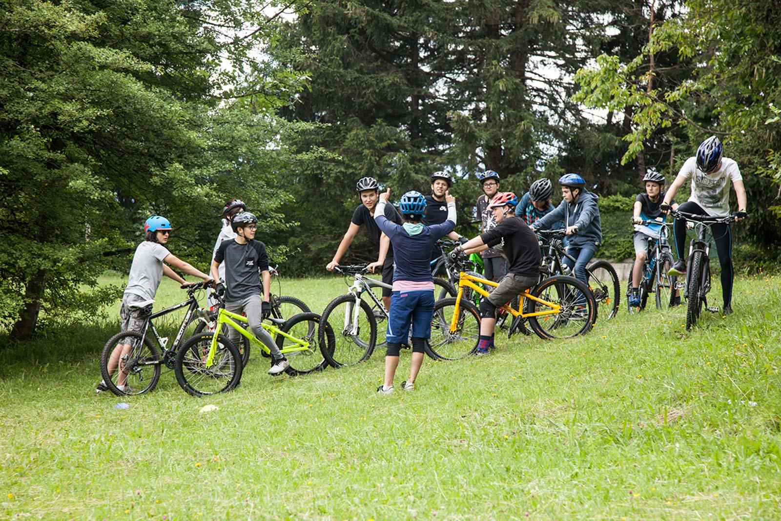 Schule geht Biken I bikehow Schulbikekurse