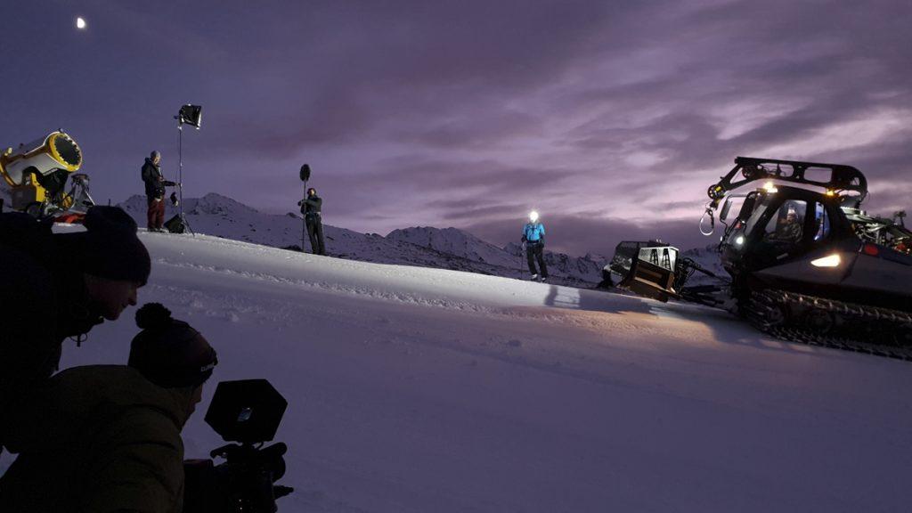 Pistenskitouren bei Nacht - jetzt heißt es sichtbar machen!