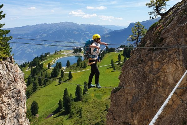 Workshop Ferrata am Penken I climbhow xhow Innsbruck