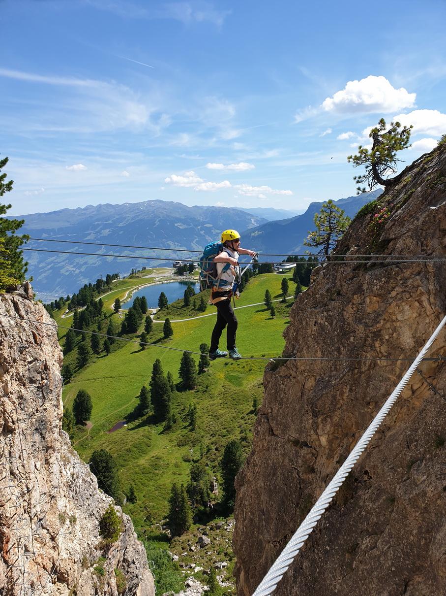 Klettersteig-Check: Die Klettersteige Steinbock und Knorren Nadel